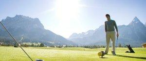 Golfen im Tiroler Zugspitztal