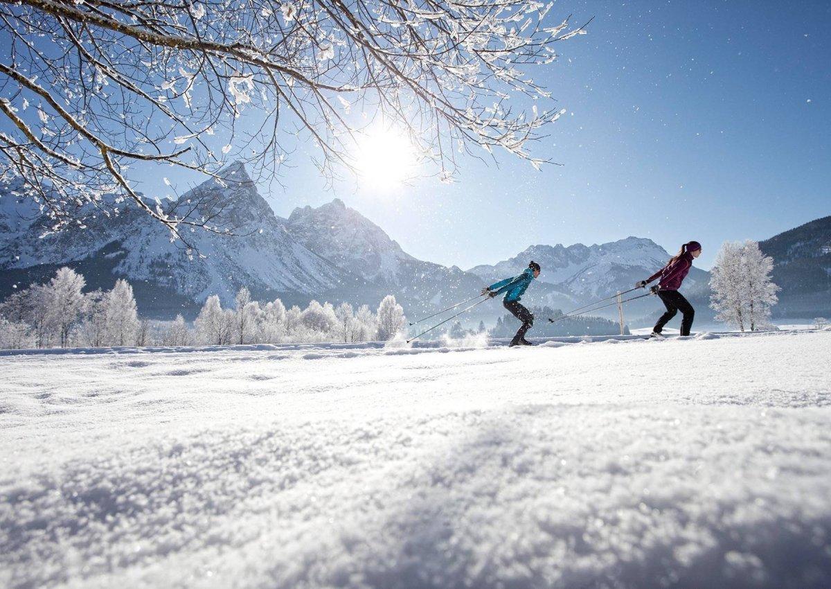 Langlauf und Winterwandern